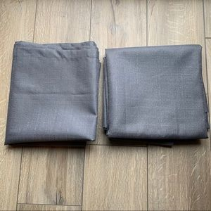 42x84 Blackout Curtain Panels (two)